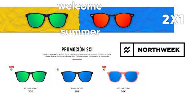 Northweek promoción gafas de sol 2x1 junio 2018