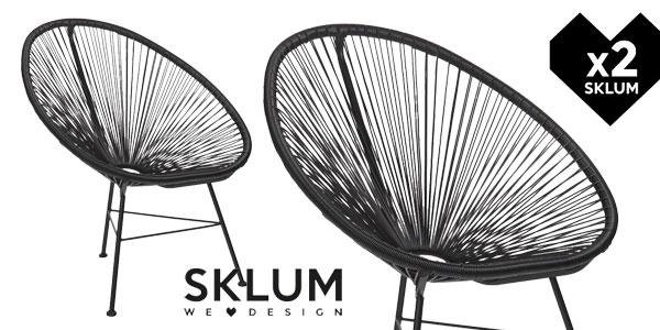 Pack de 2 sillas New Acapulco en muchos colores baratas en eBay