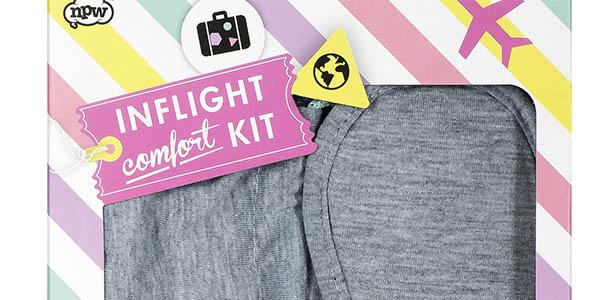 pack de viaje NPW con almohadilla y antifaz y genial relación calidad-precio