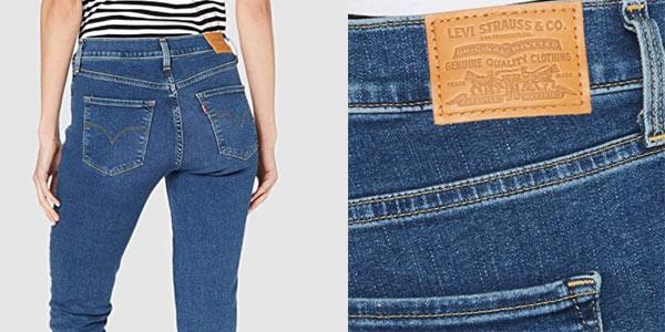 Chollo Pantalones Vaqueros Levi S 311 Shaping Skinny Para Mujer Por Solo 49 50 Con Envio Gratis 45 De Descuento