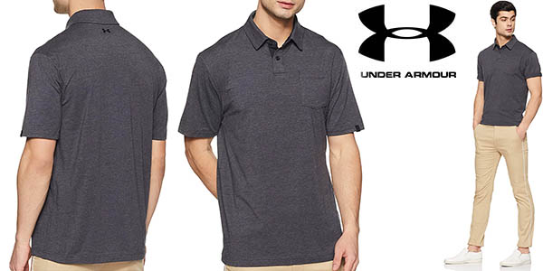 Polo Under Armour Charged Cotton Scramble para hombre