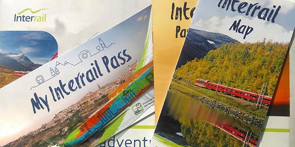 promoción Interrail billetes para viajar por Europa gratis