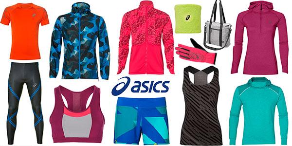 Complementos deportivos en Asics muy baratos