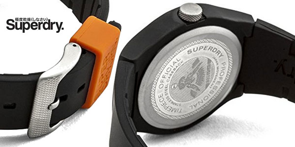 Reloj analógico Superdry SYG164B para hombre chollazo en Amazon