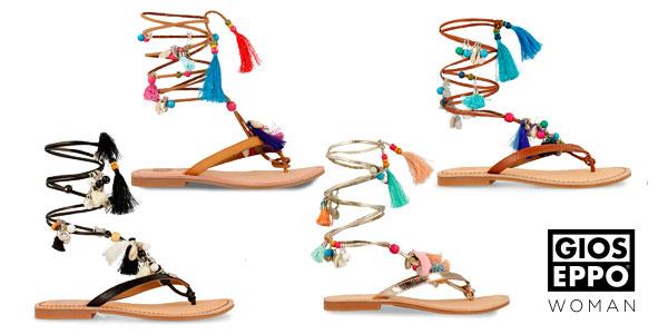Sandalias esclavas Gioseppo Decore de piel para mujer chollazo en eBay