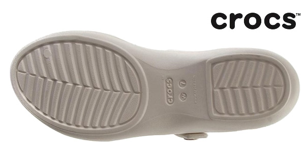 Sandalias Crocs Cleo V Wen color marfil para mujer chollazo en La Redoute
