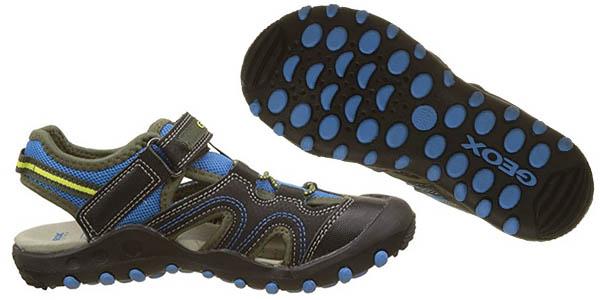 sandalias con velcro Geox Jr Sandal Kyle A zapato infantil en oferta
