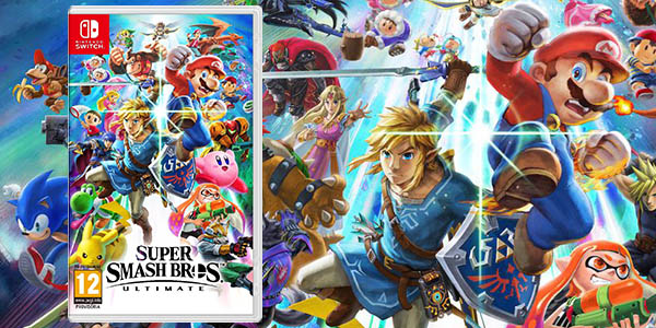 Super Smash Bros Ultimate para Nintendo Switch