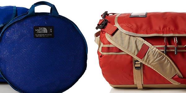 The North Face Base Camp Duffel bolsa-mochila cómoda de llevar chollo