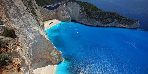 Zakynthos playas paradisíacas en las islas griegas