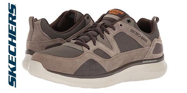 escocés Fotoeléctrico Parte  Chollazo Zapatillas Skechers Quantum-Flex-Country Walker para hombre por  sólo 32,45€ con envío gratis (50% de descuento)