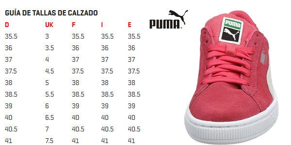 Zapatillas unisex Puma Suede Classic Jr en color rosa chollazo en Amazon