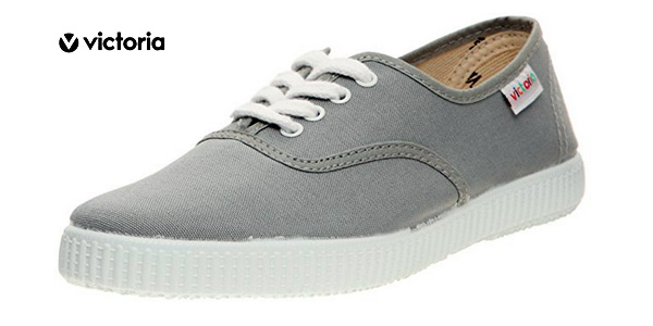 Zapatillas unisex Victoria Inglesa Lona color gris baratas en Amazon