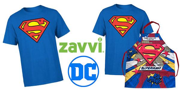 Zavvi promoción camiseta y delantal de Superman baratos