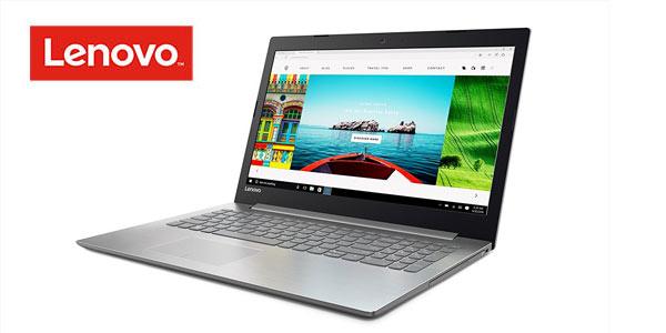 Ordenador portátil Lenovo Ideapad 320-15AST con procesador AMD A9 9420 barato en el Prime Day de Amazon
