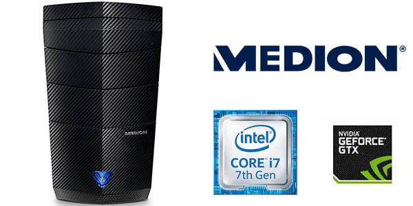 PC sobremesa Medion Erazer PG609 i/ nvidia GeForce GTX 1060 barato en Amazon Prime Day