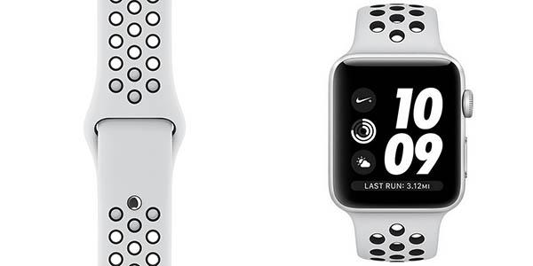 Apple Watch 3 NIKE+ de 42 mm en color blanco