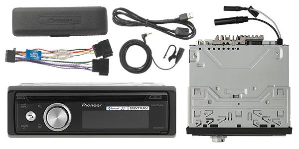 Autorradio Pioneer DEH-X8700BT con CD, USB y Bluetooth barata