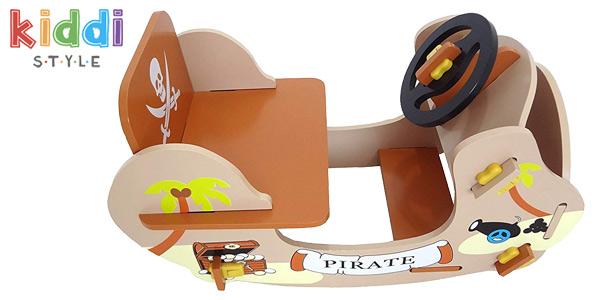 Balancín pirata de madera Rocking Boat Kiddi Style chollazo en Amazon