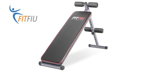 Banco de musculación y abdominales plegable FitFiu Fitness MUB2002A barato en eBay