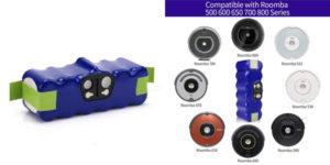 Batería compatible Morpilot para Roomba barata en Amazon