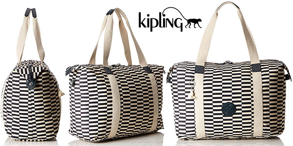 juicio Cámara Persuasión  Chollazo Bolsa de viaje Kipling Art M Fold Printed de 33 litros por sólo  37,48€ con envío gratis (-62%)
