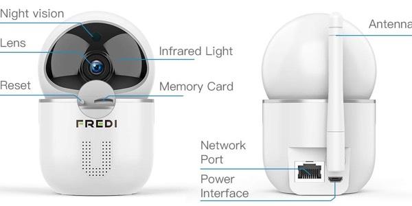 Cámara de vigilancia WiFi con sensor de momivimiento al mejor precio en Amazon