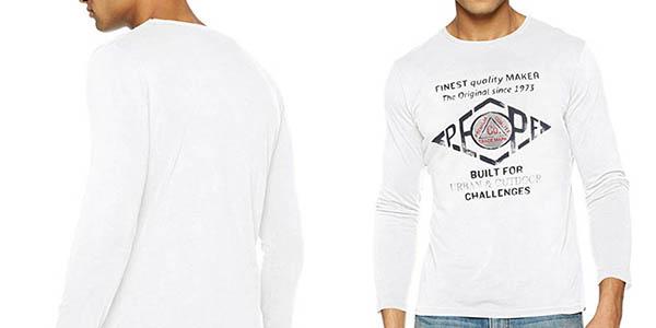 camiseta de diseño casual Pepe Jeans Basuki chollo