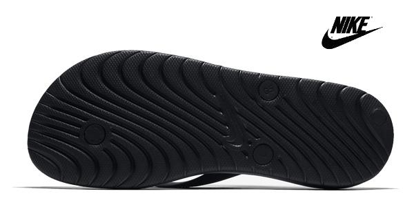 Chanclas Nike Solay clásicas en color negro para hombre chollazo en Asos