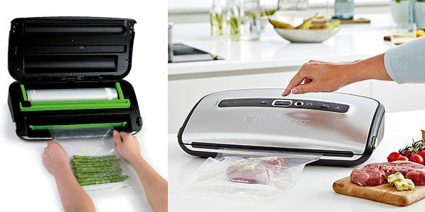 Chollo Envasadora al vacío FoodSaver FFS016X con cutter y portarrollos