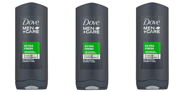 Chollo Gel de ducha Dove Men+ Care Extra Freshde 400 ml