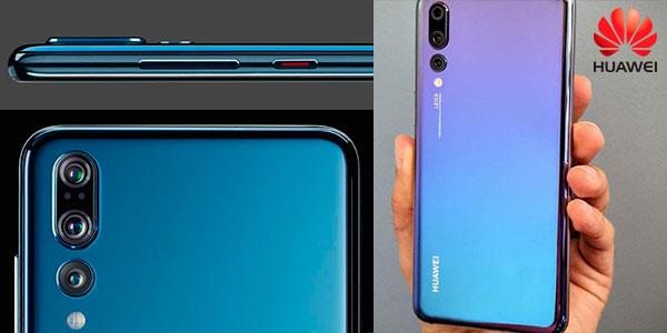 """Chollo Huawei P20 Pro de 6,1"""" con 6GB RAM y 128GB ROM de color azul Twilight"""
