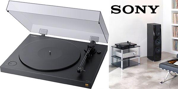 Chollo Tocadiscos Sony PSHX500 de 2 velocidades y convertidor a mp3