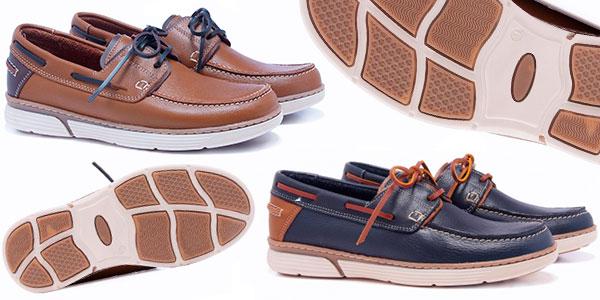 Chollo Zapatos náuticos Castellanísimos de piel para hombre