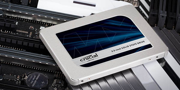 Crucial MX500 de 2 TB en Amazon