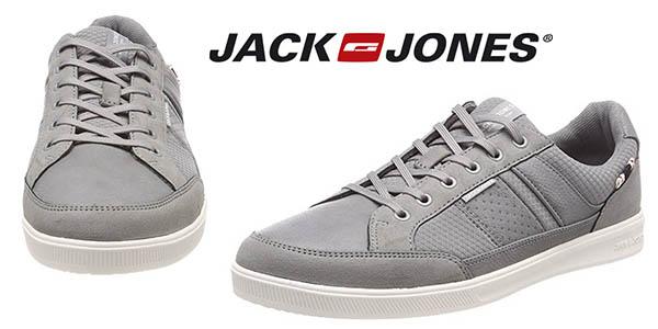 Jack Jones Jfwrayne Mesh Mix Frost Grey zapatillas hombre baratas