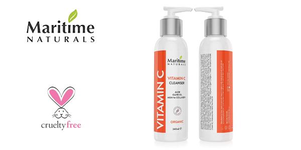 Limpiador facial Maritime Naturals de calidad superior con vitamina C chollo en Amazon