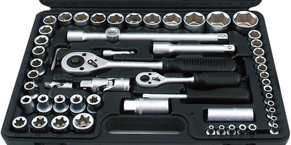 Maletín de herramientas con 108 piezas barato