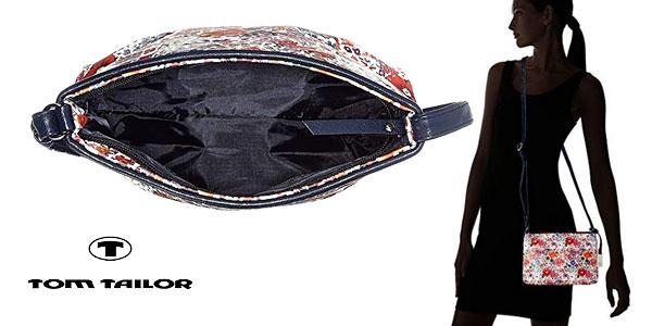 Minibolso Tom Tailor Denim Mila Flower 4251234423677 para mujer chollo en Amazon