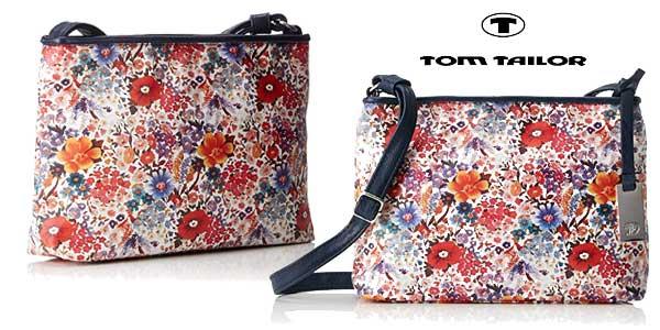 Minibolso Tom Tailor Denim Mila Flower 4251234423677 para mujer barato en Amazon