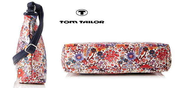 Minibolso Tom Tailor Denim Mila Flower 4251234423677 para mujer chollazo en Amazon