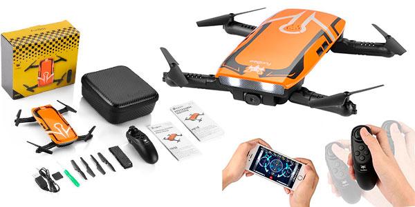 Minidrone plegable Furibee H818 RC con Wi-Fi y cámara HD rebajado