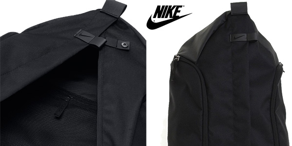 Mochila mediana Nike Fb Centerline Backpack en color negro antracita chollo en Amazon