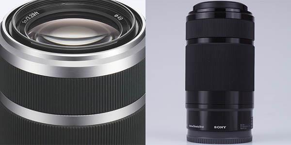 Sony SEL55210 con zoom telescópico