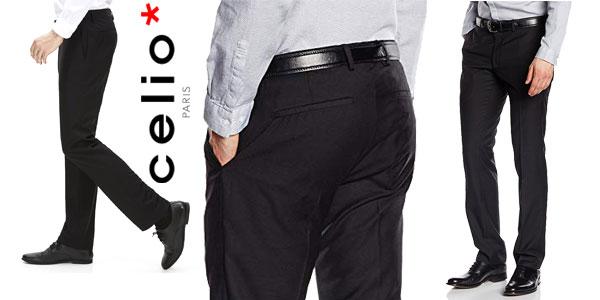 Chollazo Pantalones De Vestir Celio Dohit Para Hombre Por Solo 15 95 47 De Descuento