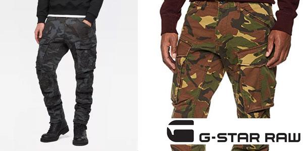 Pantalones Cargo Rovic 3D Tapered G Star Raw al mejor precio en Amazon