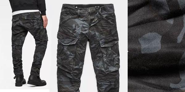 Pantalones militares G-Star Raw Rovic 3D rebajados en Amazon