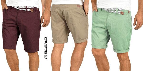 Pantalón corto chino Blend Ragna para hombre en muchos colores baratos en Amazon