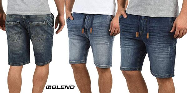 Pantalón vaquero corto Blend Bartels para hombre en varios tonos barato en Amazon