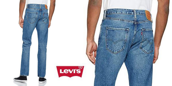 Pantalones vaqueros Levi's 501 Original Straight Fit chollo en Amazon